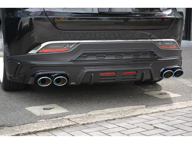 G ZEUS新車カスタムコンプリートカー・エアロ3点・グリル・リアウィング・メッキピラー・ドアミラー・車高調・22インチ・マフラー・LEDバックフォグ・キャリパーカバー・BSM・12.3型ナビ・ETC(17枚目)