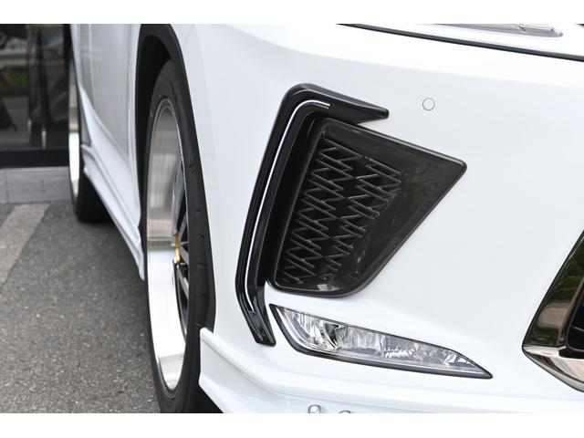 RX300 Fスポーツ ZEUS新車カスタムコンプリートカー・エアロ3点・Rゲートウィング・デイライトガーニッシュ・ダウンサス・22インチ・4本出マフラー・パノラミックビュー・アダプティブハイビーム(14枚目)