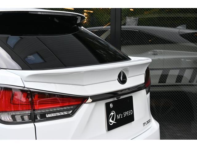 RX300 Fスポーツ ZEUS新車カスタムコンプリートカー・エアロ3点・Rゲートウィング・デイライトガーニッシュ・ダウンサス・22インチ・4本出マフラー・パノラミックビュー・アダプティブハイビーム(19枚目)