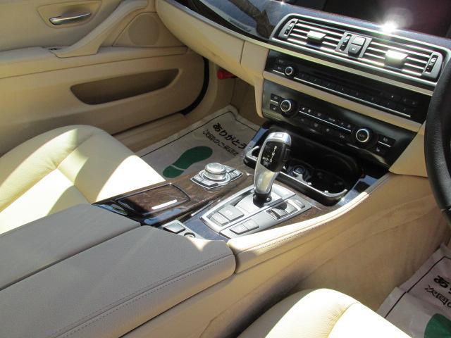 BMW BMW 528iBEAMコンプリートカー淡革サイド バックカメラ