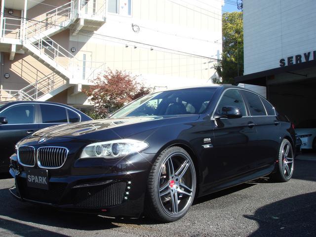 BMW BMW 528iBEAMコンプリートカー 黒革 キャリパーペイント