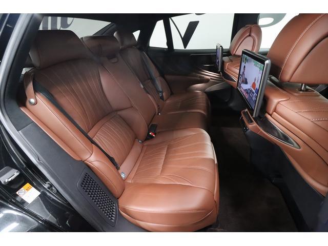 LS500h エグゼクティブ 茶革シート リアエンターテイメント Marklevinsonサウンド ヘッドアップディスプレイ 全席シートヒーター&ベンチレーター デジタルインナーミラー パドルシフト 純正フルセグHDDナビ(15枚目)