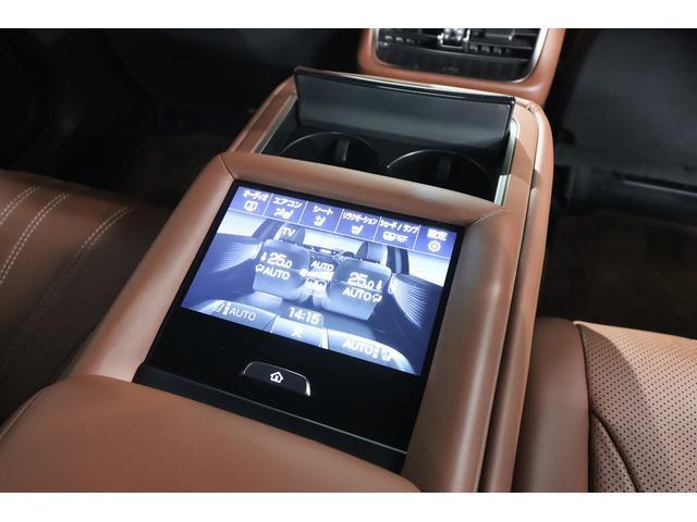 LS500h エグゼクティブ 茶革シート リアエンターテイメント Marklevinsonサウンド ヘッドアップディスプレイ 全席シートヒーター&ベンチレーター デジタルインナーミラー パドルシフト 純正フルセグHDDナビ(17枚目)