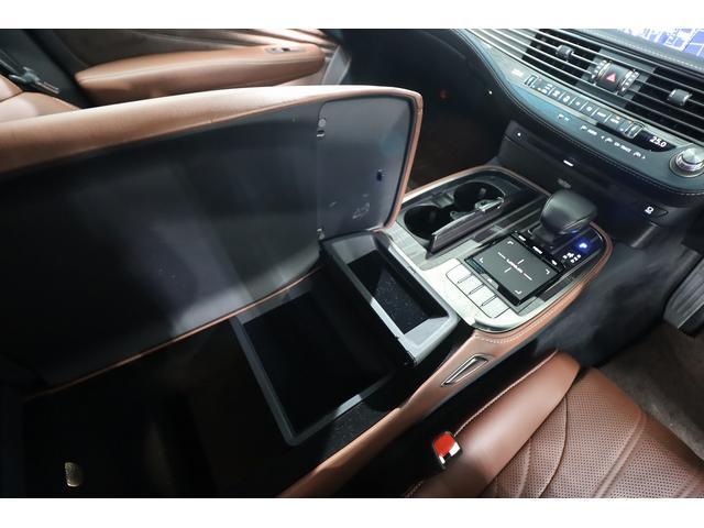 LS500h エグゼクティブ 茶革シート リアエンターテイメント Marklevinsonサウンド ヘッドアップディスプレイ 全席シートヒーター&ベンチレーター デジタルインナーミラー パドルシフト 純正フルセグHDDナビ(27枚目)