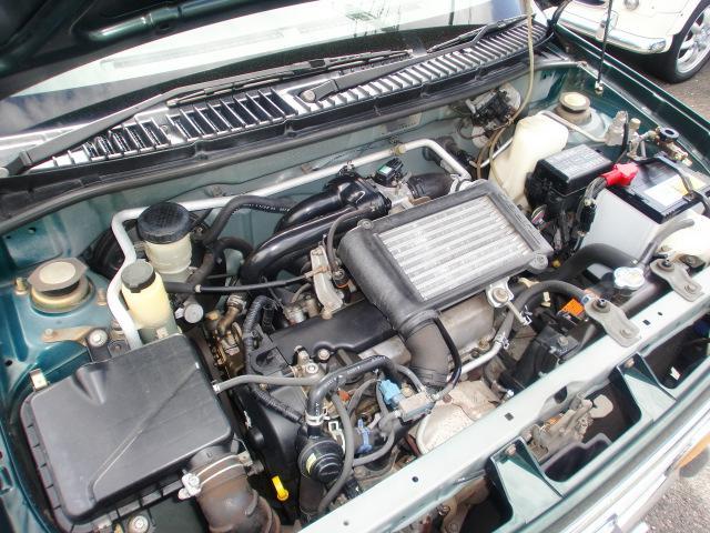 ダイハツ ミラジーノ ジーノターボ 電子制御4速オートマ 安全ボディ