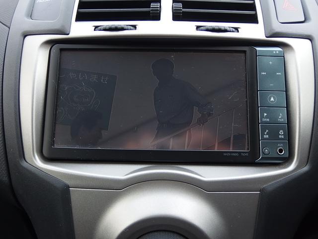 トヨタ ヴィッツ F インテリジェントパッケージ HDDナビTV ワンオーナー