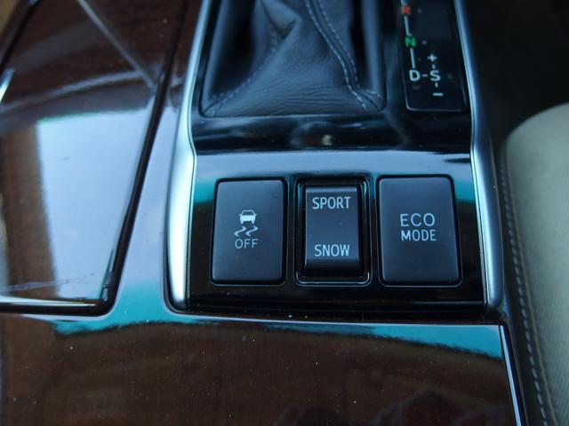 横滑り防止・トラクションコントロール・エコモードドライブスイッチ