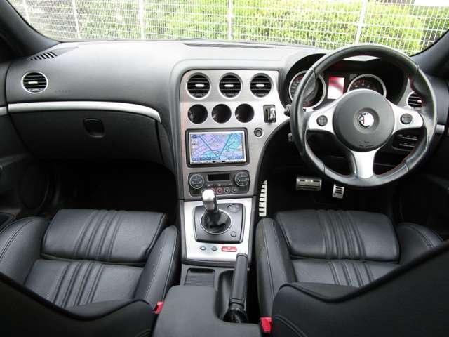 2.2 JTS セレスピード TI ワンオーナー車ナビ・ETC・黒革Ti専用シート・専用ステアリング(4枚目)
