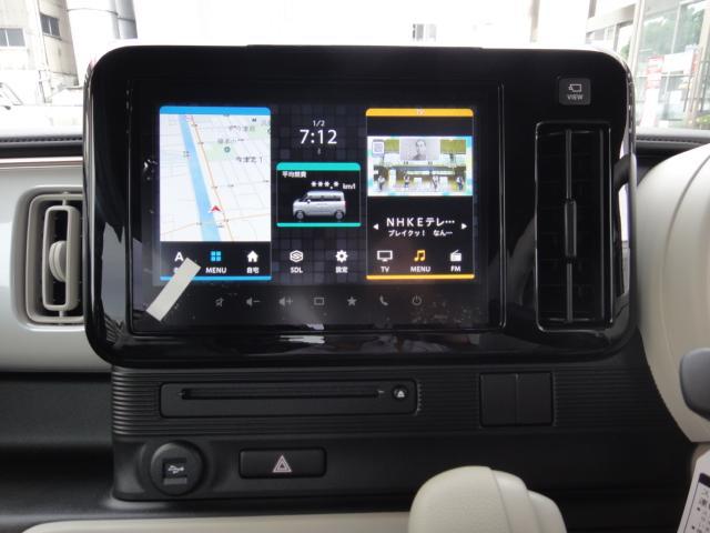 ハイブリッドS 全方位モニター9インチメモリーナビ スズキ5年保証付 セーフティサポート 軽自動車(7枚目)