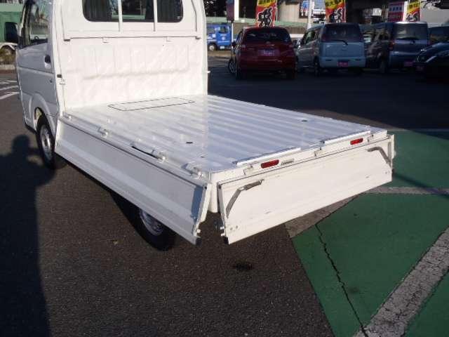 便利な三方開きを採用。積み降ろと運びのための機能・性能をどこまでも磨きぬきました!