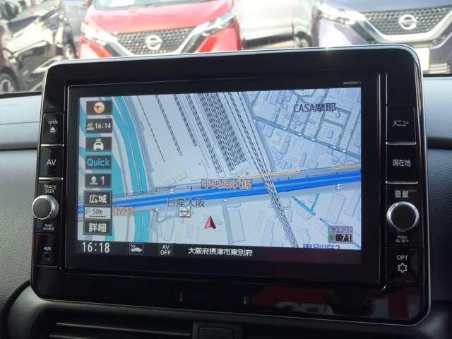 ハイウェイスターX アラウンドビューM アラウンドビューモニター 衝突被害軽減システム ETC 左側オートスライド  メモリーナビTV(4枚目)