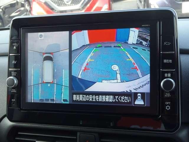 ハイウェイスターX アラウンドビューM アラウンドビューモニター 衝突被害軽減システム ETC 左側オートスライド  メモリーナビTV(5枚目)