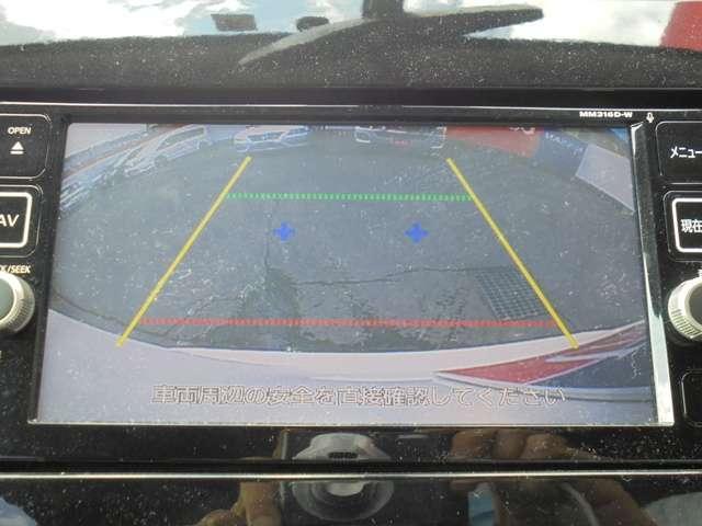ミニバンの必需品、バックカメラを装着!車庫入れや縦列駐車時に、重宝しますよ!!