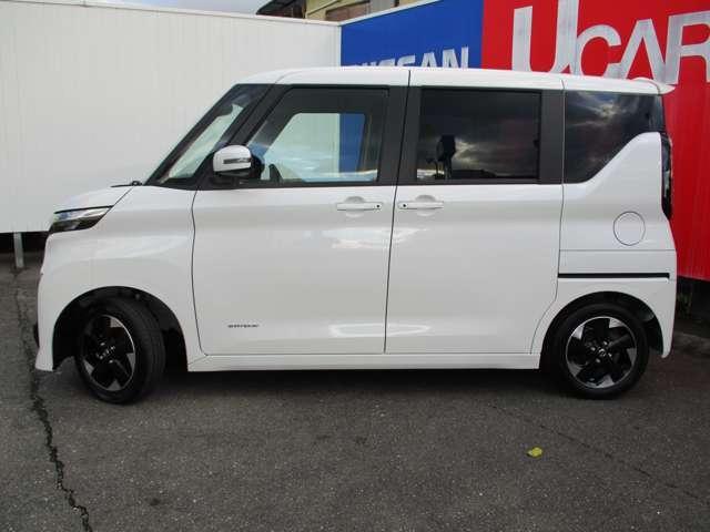 ハイウェイスターX 踏み間違い防止装置 被害軽減ブレーキ メモリーナビ フルセグTV アラウンドビューモニター ETC インテリキー ハンズフリー左側電動スライドドア SOSコール LEDライト(20枚目)