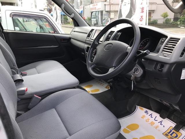 トヨタ レジアスエースバン ロングDX ルーフキャリィ キーレス ETC 4WD