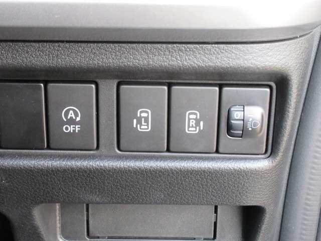 大きく開くスライドするドアは、狭い駐車場だって乗り降りはスムーズ!ワンタッチで操作できますので、お子様でも開け閉めできます!スライドドアには閉め込み防止のセンサーが付いていますので、安心です!
