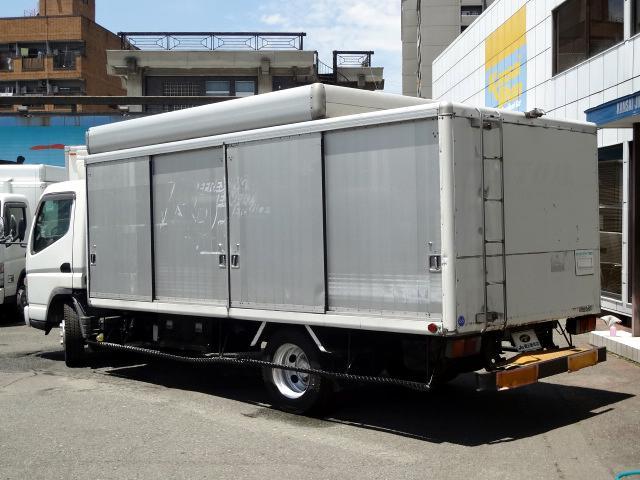 三菱ふそう キャンター 超ロングボトルカー 3.5t NOX適合