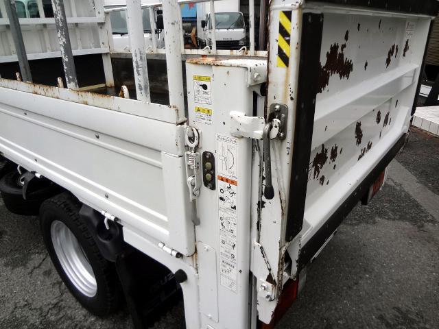 いすゞ エルフトラック フルフラットロー Pゲート 3t NOX適合