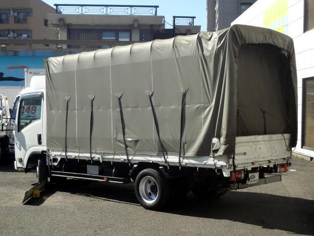 ロングフルワイドロー幌 2t NOX適合(2枚目)