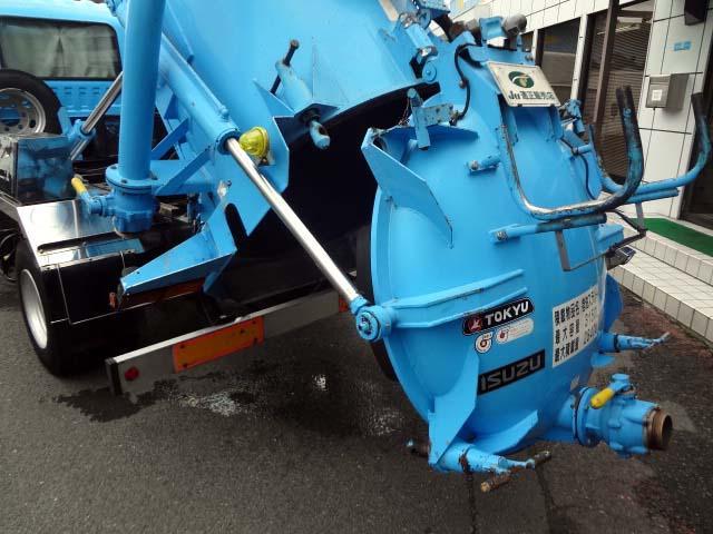 汚泥吸引車 2.84t NOX適合(14枚目)