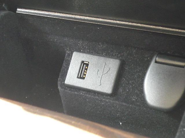 USB端子付き!