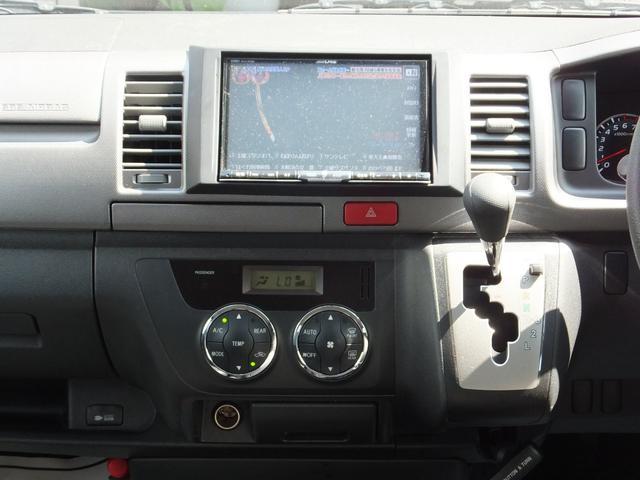 ロングスーパーGL FエアロESSEX17AWローダウン8型アルパインナビ地デジBカメラ新品mobleベッドキットHIDライトシートカバーキーレス(21枚目)