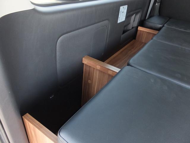ロングスーパーGL FエアロESSEX17AWローダウン8型アルパインナビ地デジBカメラ新品mobleベッドキットHIDライトシートカバーキーレス(35枚目)