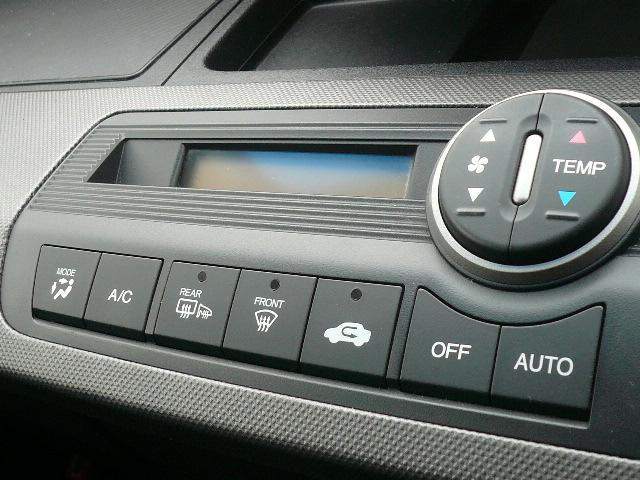 エアコンはオート式で便利です!