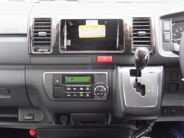 スーパーGL ダークプライムII 6型新車未登録ディーゼルTBモデリスタFエアロハーフレザー両側電動SRSエアバッグTOYOTAセフティーセンスPVM100V電源LEDヘッドライト新品mobleベッドキットPスタートスマートキー(23枚目)