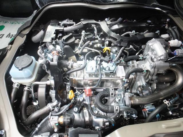 スーパーGL ダークプライムII 6型新車未登録ディーゼルTBモデリスタFエアロハーフレザー両側電動SRSエアバッグTOYOTAセフティーセンスPVM100V電源LEDヘッドライト新品mobleベッドキットPスタートスマートキー(47枚目)