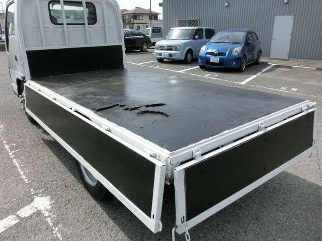 日産 アトラストラック ロングスーパーロー メッキパーツ 積載3000kg