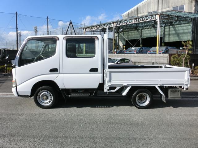 トヨタ ダイナトラック Wキャブロングジャストロー ETC NOx・PM適合