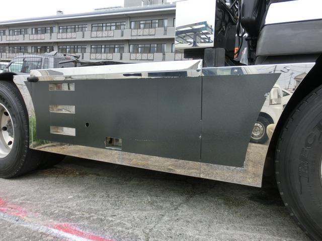 三菱ふそう スーパーグレート トレーラーヘッド メッキパーツ ETC NOx・PM適合