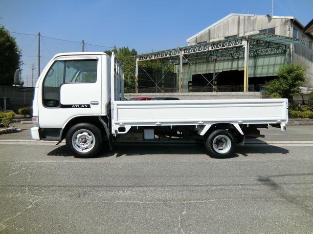 日産 アトラストラック ロングフルスーパーロー 低床 3方開 5MT PS PW