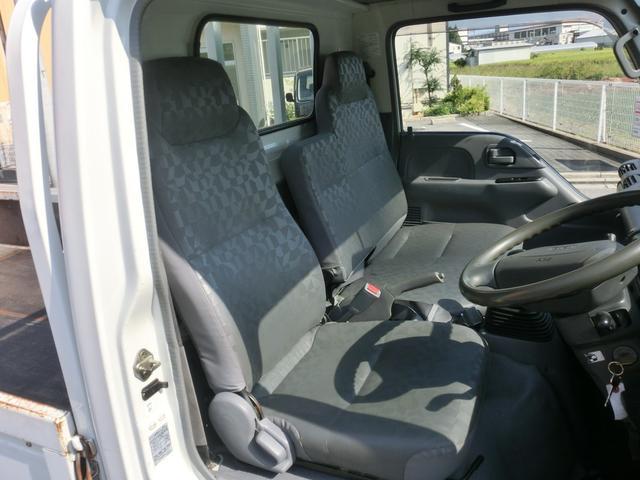 いすゞ エルフトラック フルフラットロー メッキパーツ LPG 低床 3方開 5MT