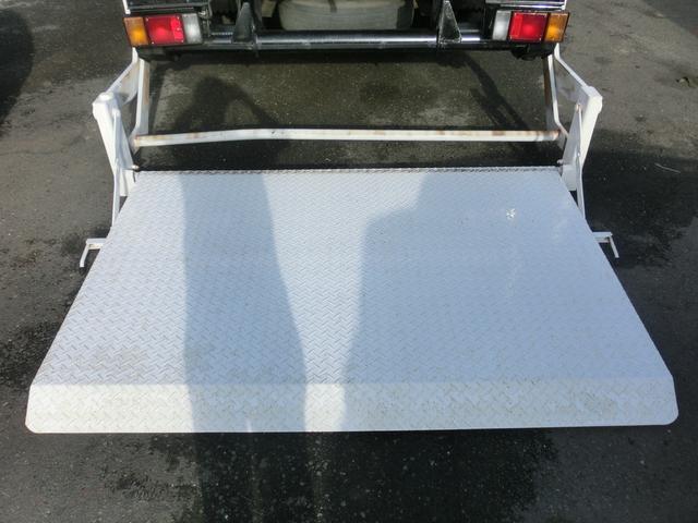 いすゞ エルフトラック ワイドロング フックイン4段クレーン パワーゲート