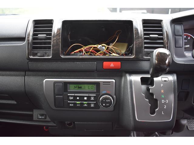 ロングスーパーGLプライムセレ PS PW AT LEDヘッドライト パール ダークプライム TVナビ有 フリップダウンモニター Bカメラ 純正ビルトインETC(9枚目)