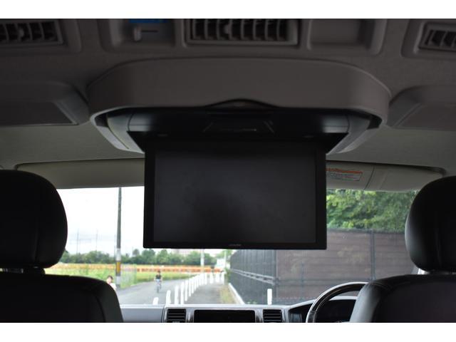 ロングスーパーGLプライムセレ PS PW AT LEDヘッドライト パール ダークプライム TVナビ有 フリップダウンモニター Bカメラ 純正ビルトインETC(10枚目)
