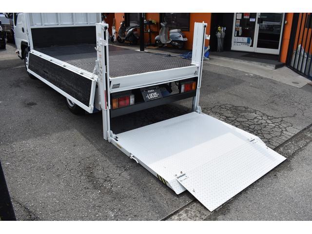 ワイドロー 平ボディ10尺 PS PW 5MT 大型折畳垂直パワーゲート 積載2000kg(15枚目)