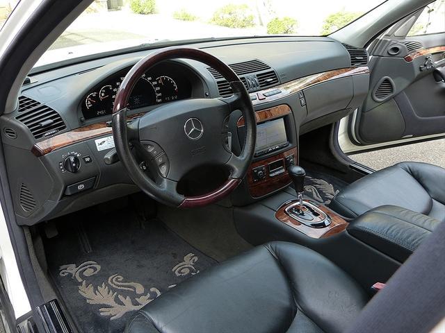メルセデス・ベンツ M・ベンツ S350 ロリンザー仕様 黒革SR HDD地デジ