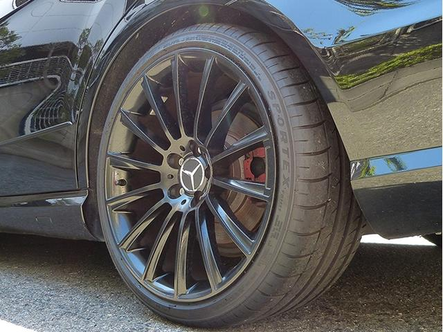 E350 アバンギャルドE63AMG仕様黒革SRHDD地デジ(12枚目)