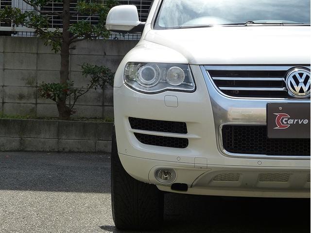 フォルクスワーゲン VW トゥアレグ V6 4WD 黒革HDD地デジBカメラ 22AW