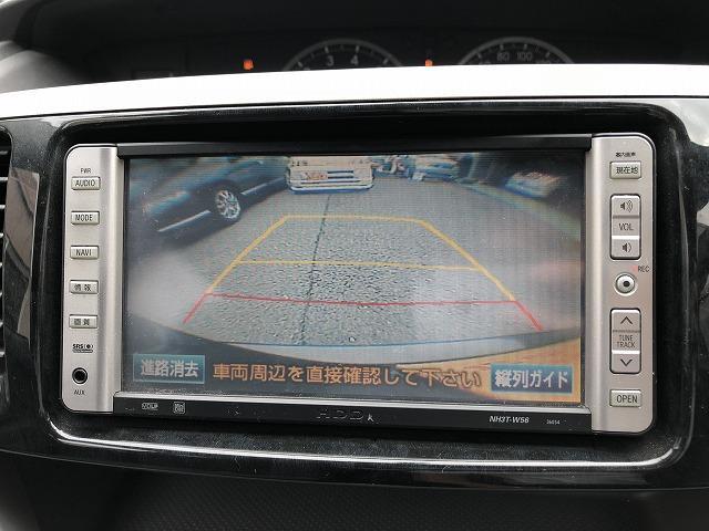 バックカメラ装備!駐車時の後方確認も安心!