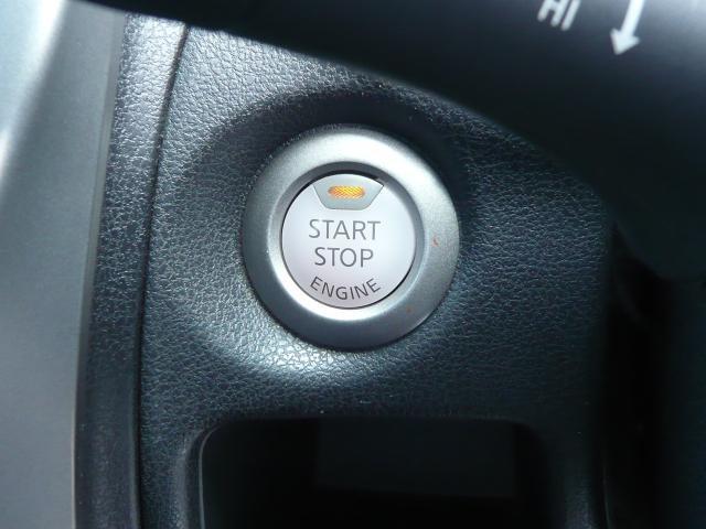 エンジンスタートはらくちんプッシュボタンでスタート!