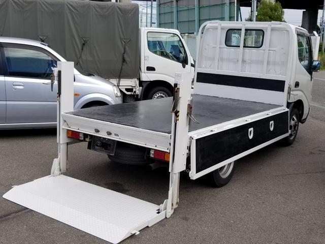 トヨタ トヨエース ロングフルジャストロー  垂直ゲート 1.5t 鉄板張り