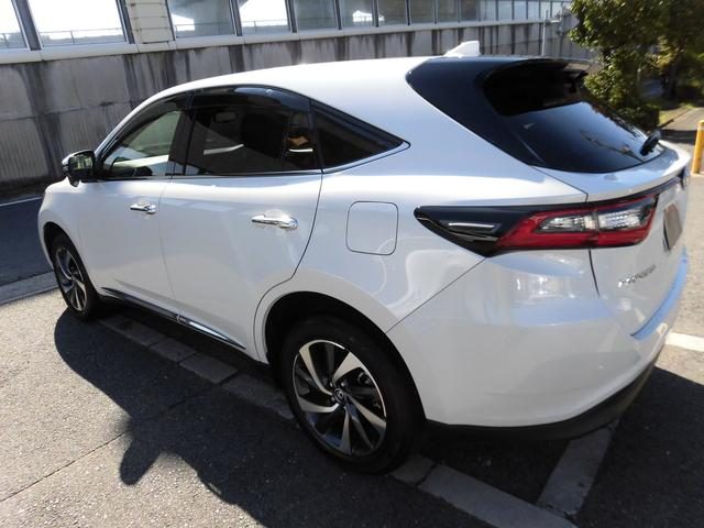 トヨタ ハリアー プレミアム 新車未登録 アルパインBIGX バックモニター