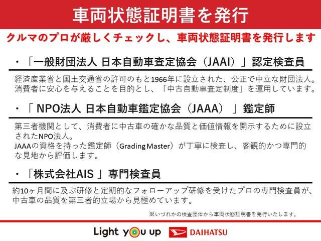 XリミテッドSAIII ダイハツ認定U-CAR 純正フルセグメモリーナビ・パノラマモニター・両側電動スライドドア・スマートキー・プッシュスタートボタン(64枚目)