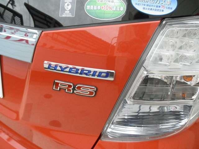 ホンダ フィットハイブリッド RS ETC