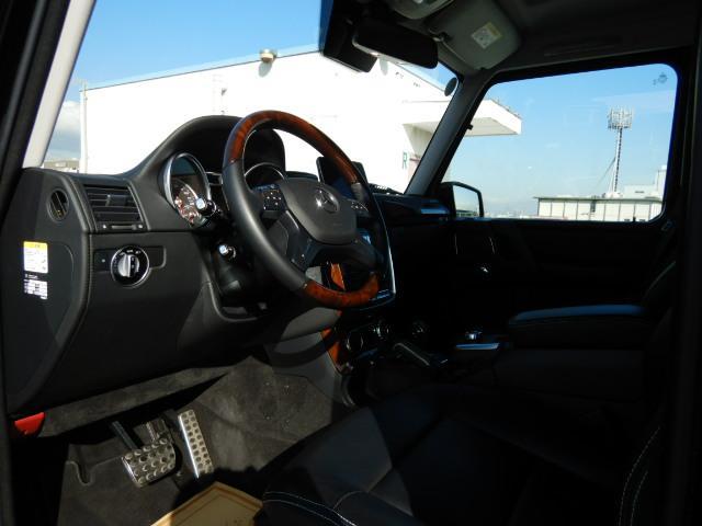 G550L デジーノレザーシート SR 1オナ 禁煙車(11枚目)