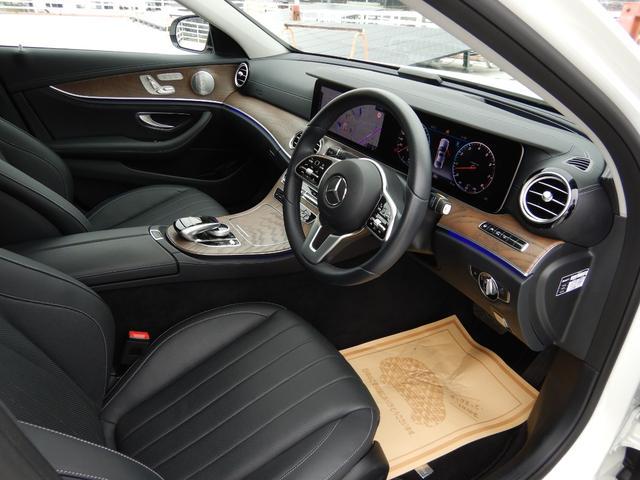E450 4マチック エクスクルーシブ エクスクルーシブパッケージ パノラミックスライディングルーフ シートヒーター&ベンチレーション 禁煙車(6枚目)